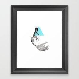 Mermaid 1 Framed Art Print