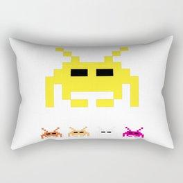 Invaders Rectangular Pillow