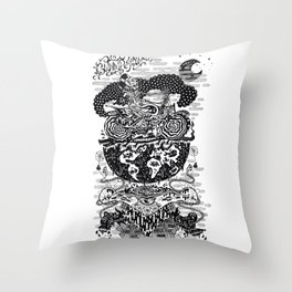 Trust in Chaos Throw Pillow