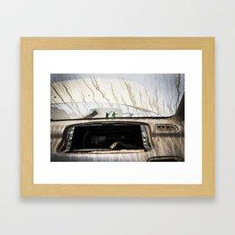 """JUNKYARD ARMY"" Framed Art Print"