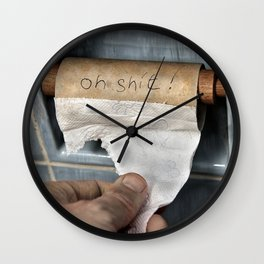 the last thought Wall Clock