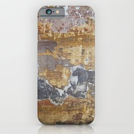 Old grunge wall iPhone Case