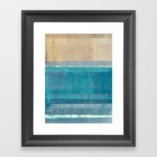 Ludwig Maun - Horizon #2 Framed Art Print