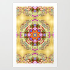 I LOVE Marrakech Art Print
