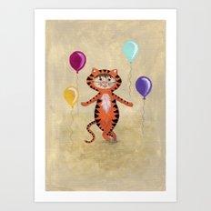 I'm A Tiger - Rooooaaarrrr Art Print