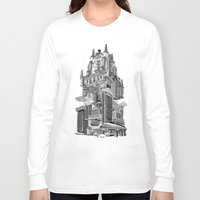madrid Long Sleeve T-shirts featuring MADRID 360º by DOURONE