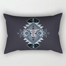 Vintage ethnic geometric hand drawn illustration Rectangular Pillow