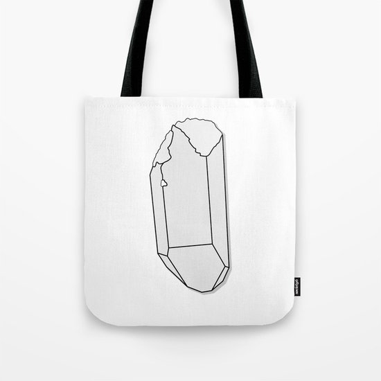Clear Quartz Tote Bag