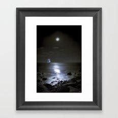 Moonshine Bay Framed Art Print
