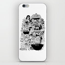 KIDS DOOM iPhone Skin