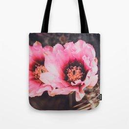 Faded Desert Blooms Tote Bag