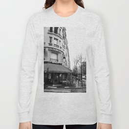 Parisian Cafe Long Sleeve T-shirt