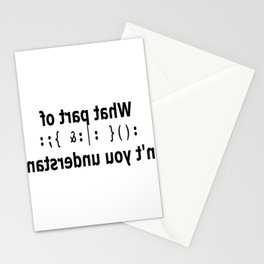 Bobsled Stationery Cards