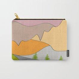 Berge, Täler und Auen Carry-All Pouch
