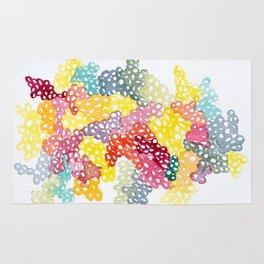 Coloured Bubbles Rug