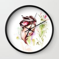 japanese Wall Clocks featuring Japanese by tatiana-teni