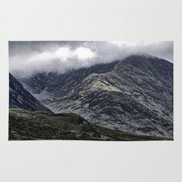Glencoe in Scottish Highlands. Rug