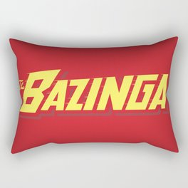 The Bazinga Rectangular Pillow