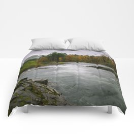 The Wilson River In The Tillamook National Forest Comforters
