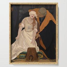 Lady Jane Grey illustration Serving Tray
