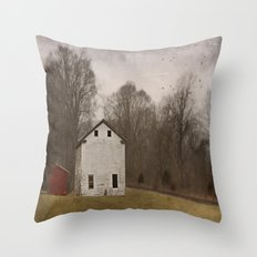 We Flew In A Circle Throw Pillow