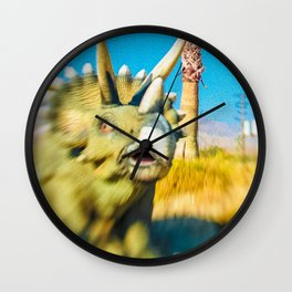 Triceratops Vision Wall Clock
