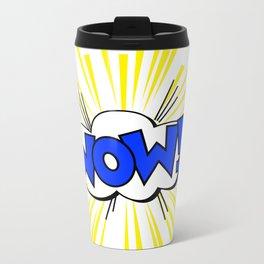 WOW ! Metal Travel Mug