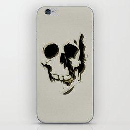 skull #06 iPhone Skin