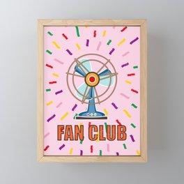 Fan Club Framed Mini Art Print