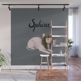 Sphinx (Gray) Wall Mural