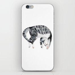 Yoga cat iPhone Skin