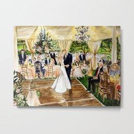 Lee/Williams Wedding Franklin TN 2018 Metal Print