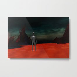 Alien World Metal Print