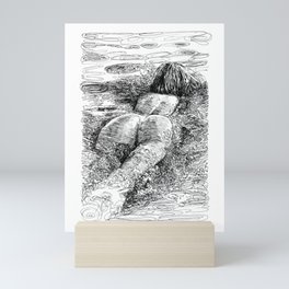 Satisfy my soul Mini Art Print