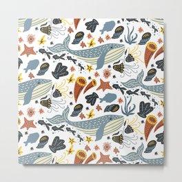 Sea Pattern #1 Metal Print