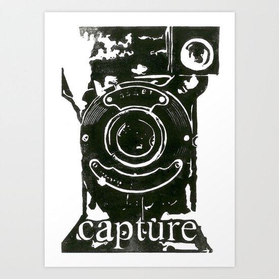 Camera Capture Art Print