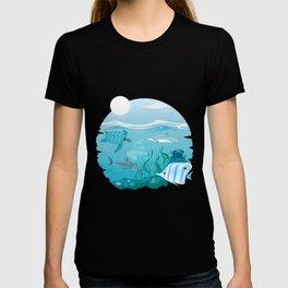 e8bdc6b3 Aqua Blue T Shirts | Society6