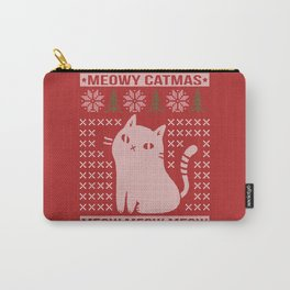 MEOWY CATMAS Carry-All Pouch