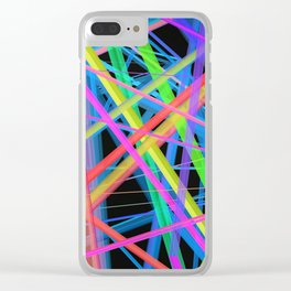 Colorful Rainbow Prism Clear iPhone Case