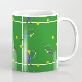Tennis Rackets and Ball Coffee Mug