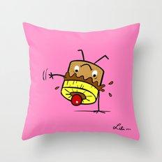 Pineapple Upside Down Cake Throw Pillow
