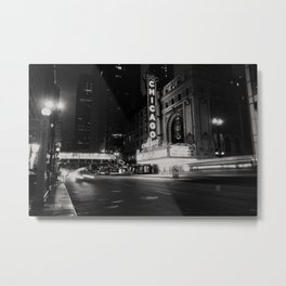 Chicago Theatre ... Metal Print
