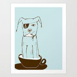 Tcup Dawg Art Print
