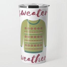 Sweater Weather Travel Mug