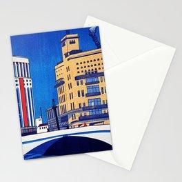 Riverside Of Sukiyabashi - Digital Remastered Edition Stationery Cards