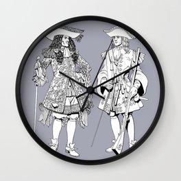 Muskets Wall Clock