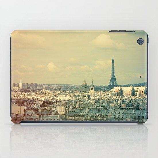 Pale Paris iPad Case