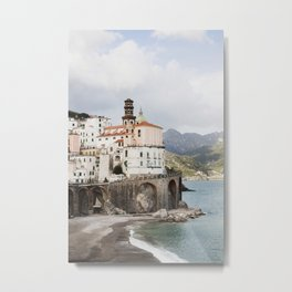 Amalfi Coast, Atrani Metal Print