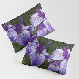 Japanese Iris Awake Pillow Sham