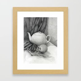 Still Life with a Tea Pot Framed Art Print